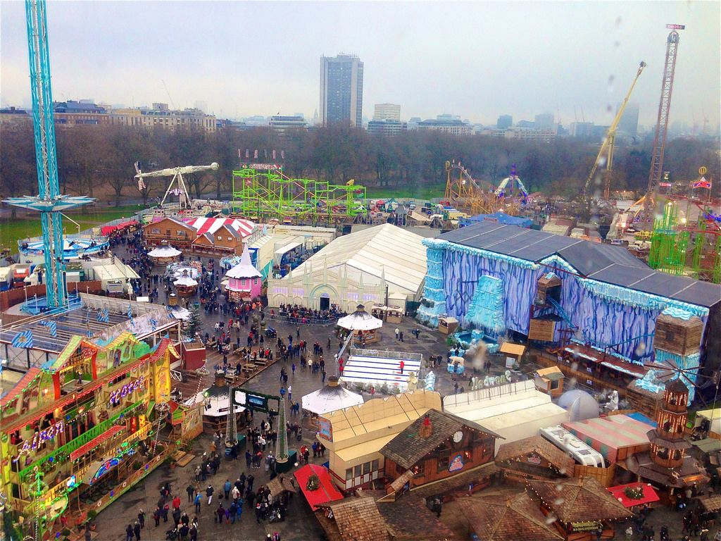 wonderland11 Winter Wonderland in Hyde Park, London
