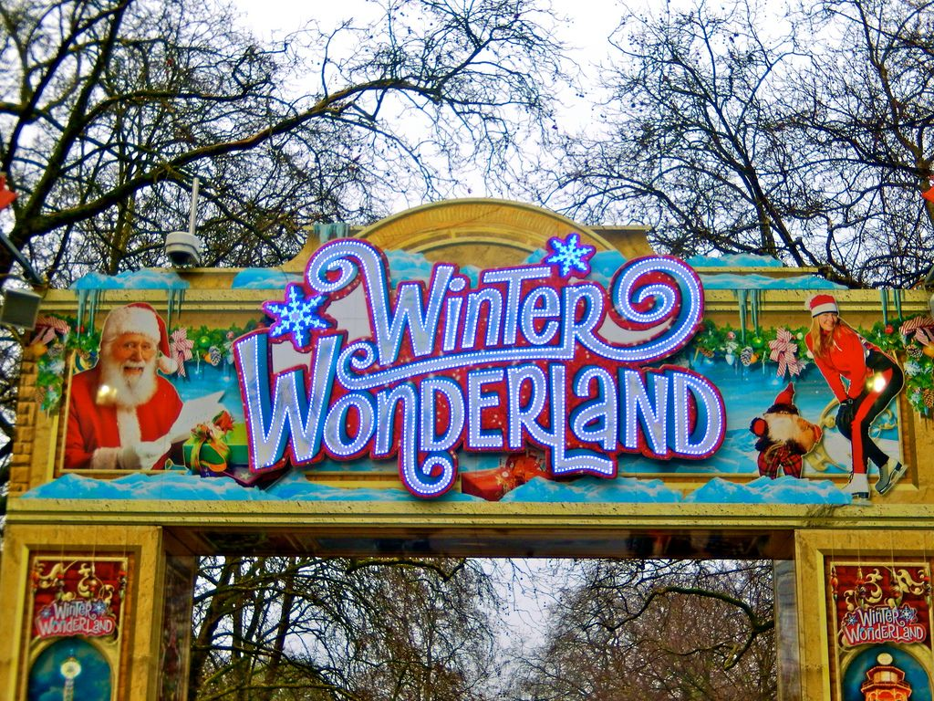 wonderland12 Winter Wonderland in Hyde Park, London