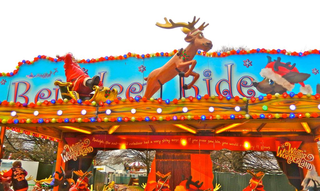 wonderland3 Winter Wonderland in Hyde Park, London