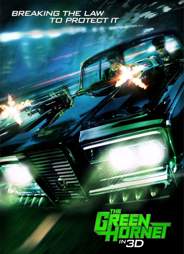 green hornet movie4 The Green Hornet Goes 3D