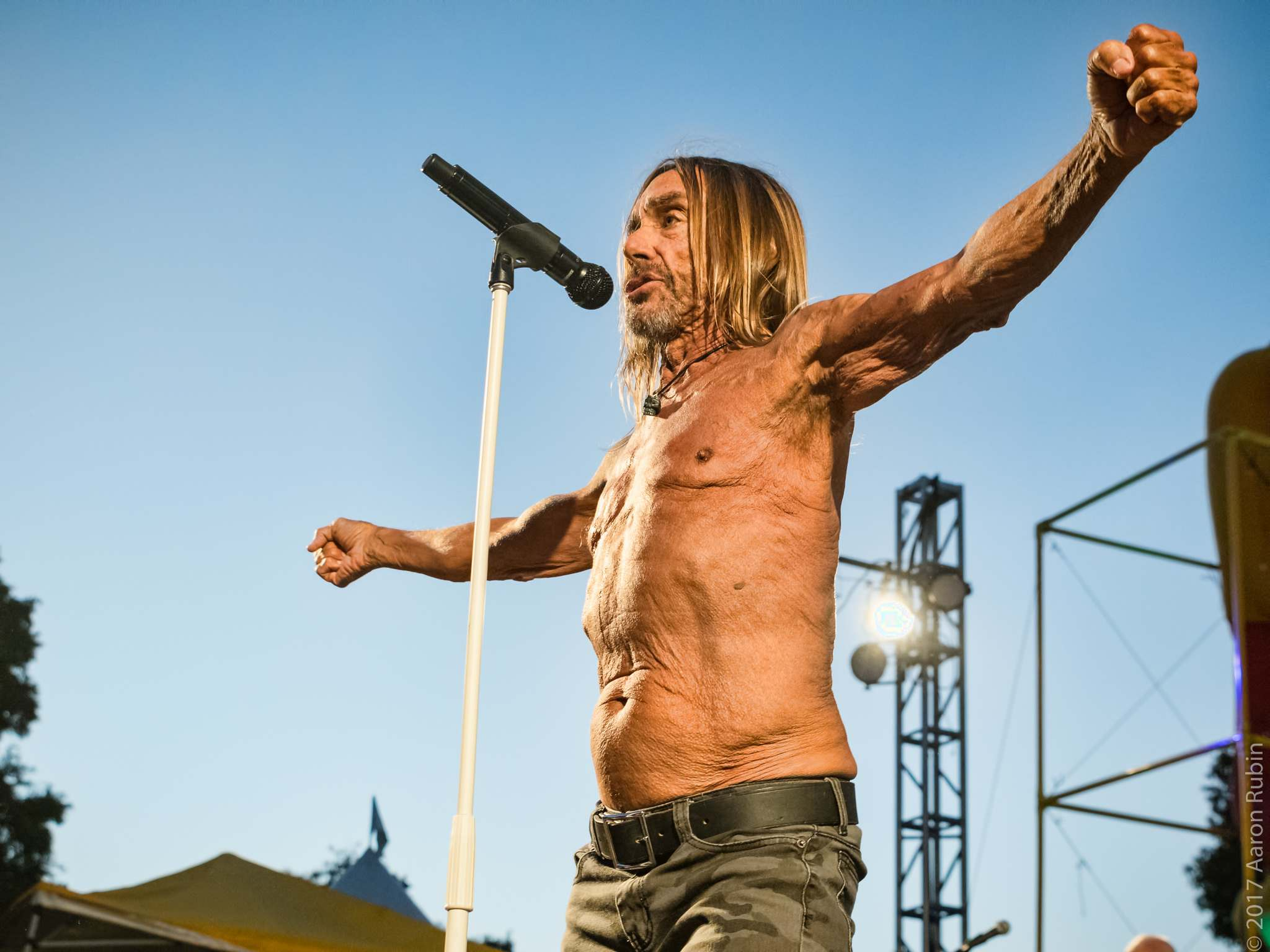 iggy pop Iggy Pop at Burger Boogaloo 2017