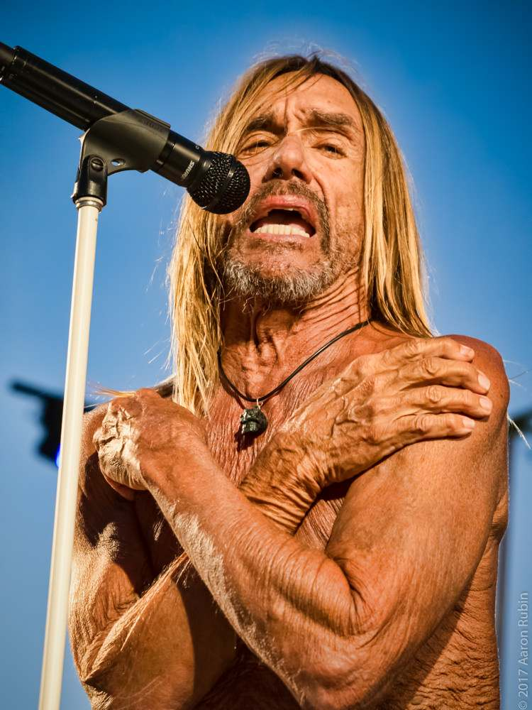 iggy pop4 Iggy Pop at Burger Boogaloo 2017
