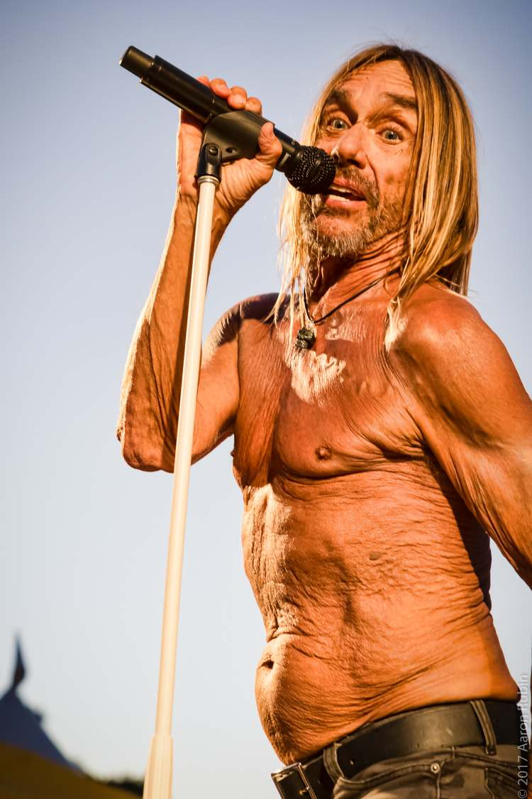 iggy pop5 Iggy Pop at Burger Boogaloo 2017