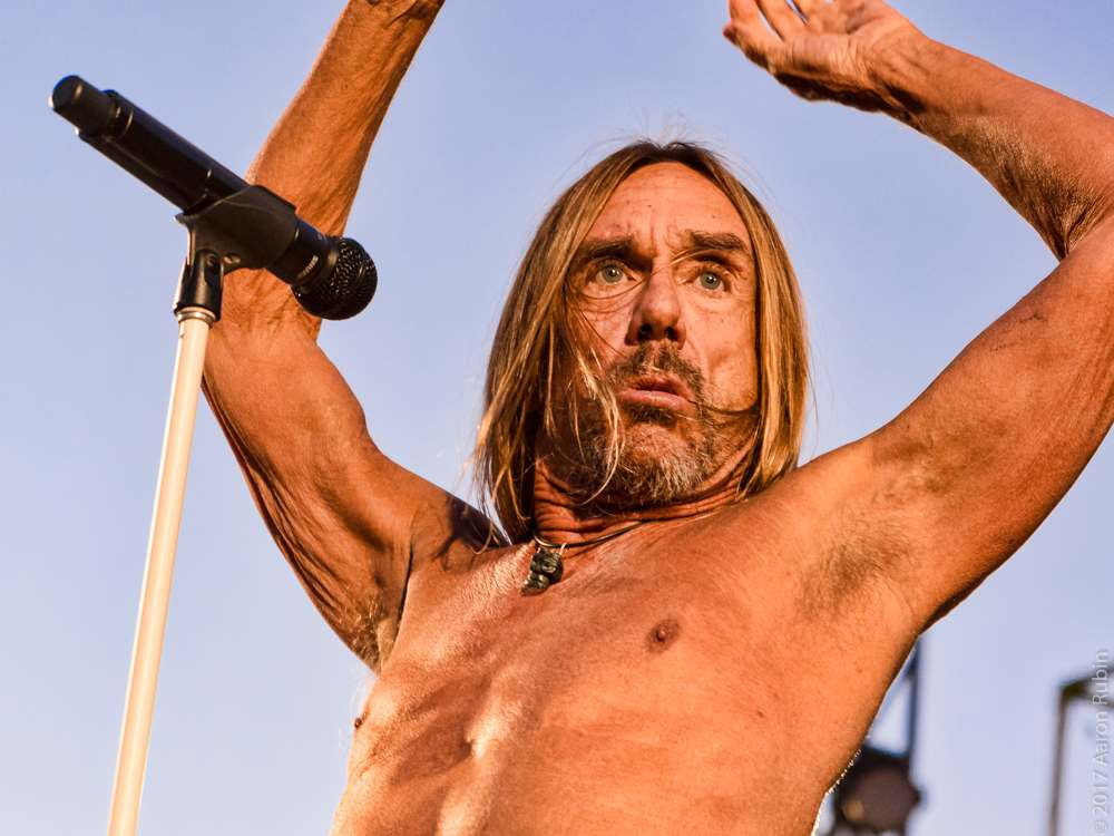 iggy pop6 Iggy Pop at Burger Boogaloo 2017