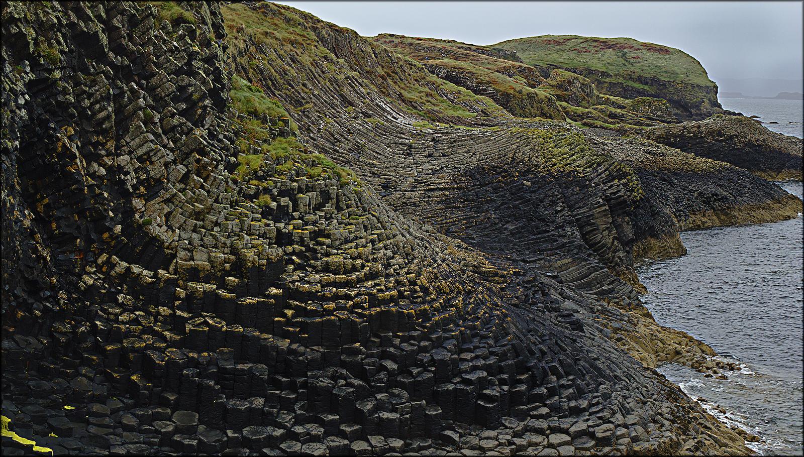 fingal1 Fingals Cave and Staffa Coast, Scotland
