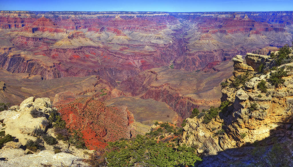 grand canyon national park9 The Grand Canyon in Gorgeous Colors