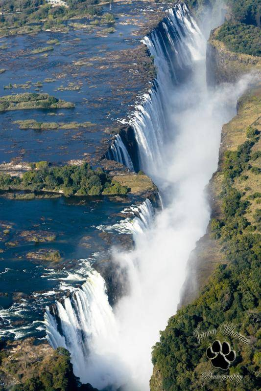 victoria falls5 The Largest Waterfall in the World   Victoria Falls