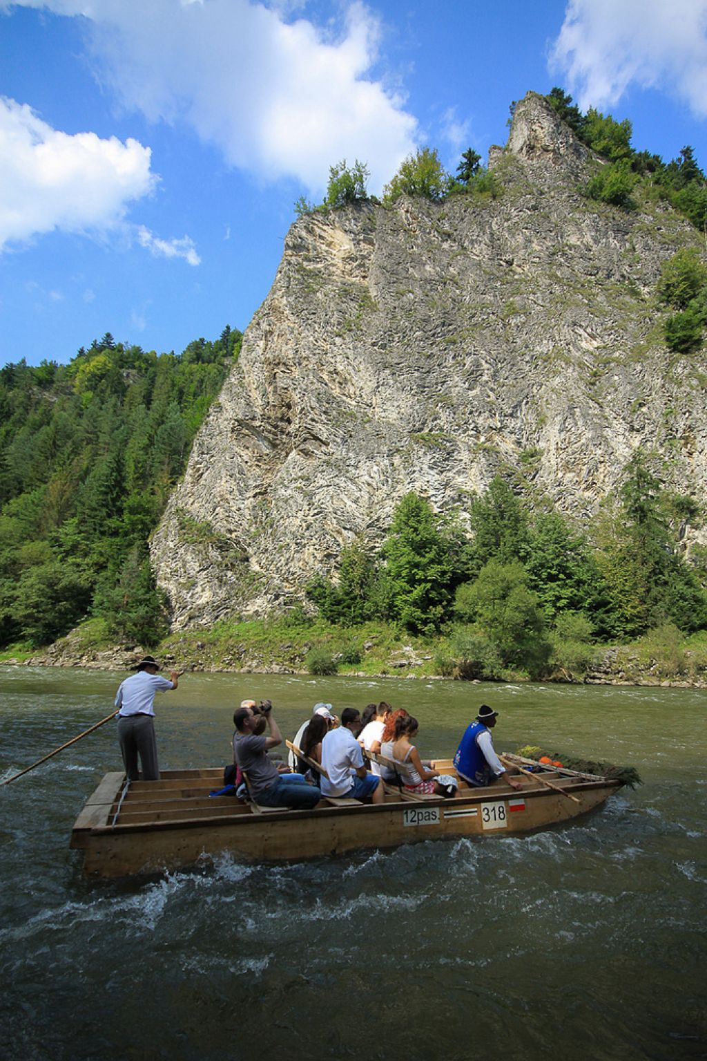 river rafting Rafting down the Dunajec Gorges