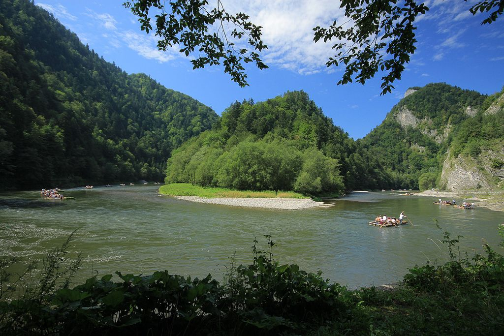 river rafting9 Rafting down the Dunajec Gorges