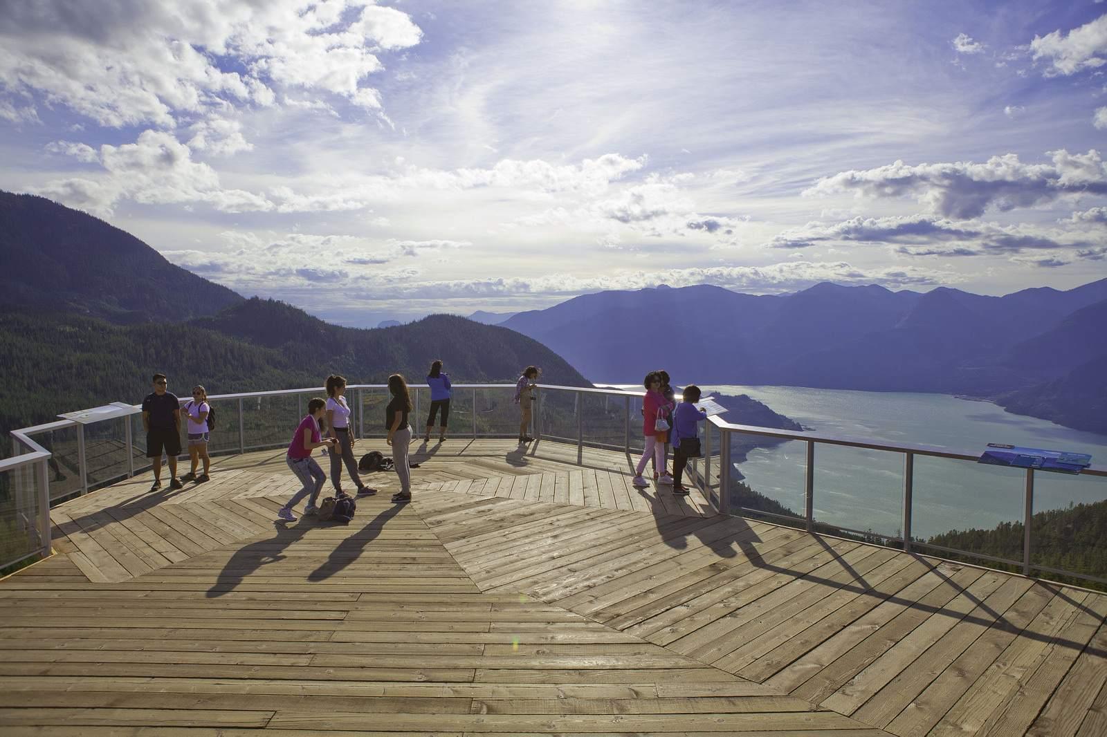 sea to sky gondola Sea to Sky Gondola Halfway Between Vancouver and Whistler