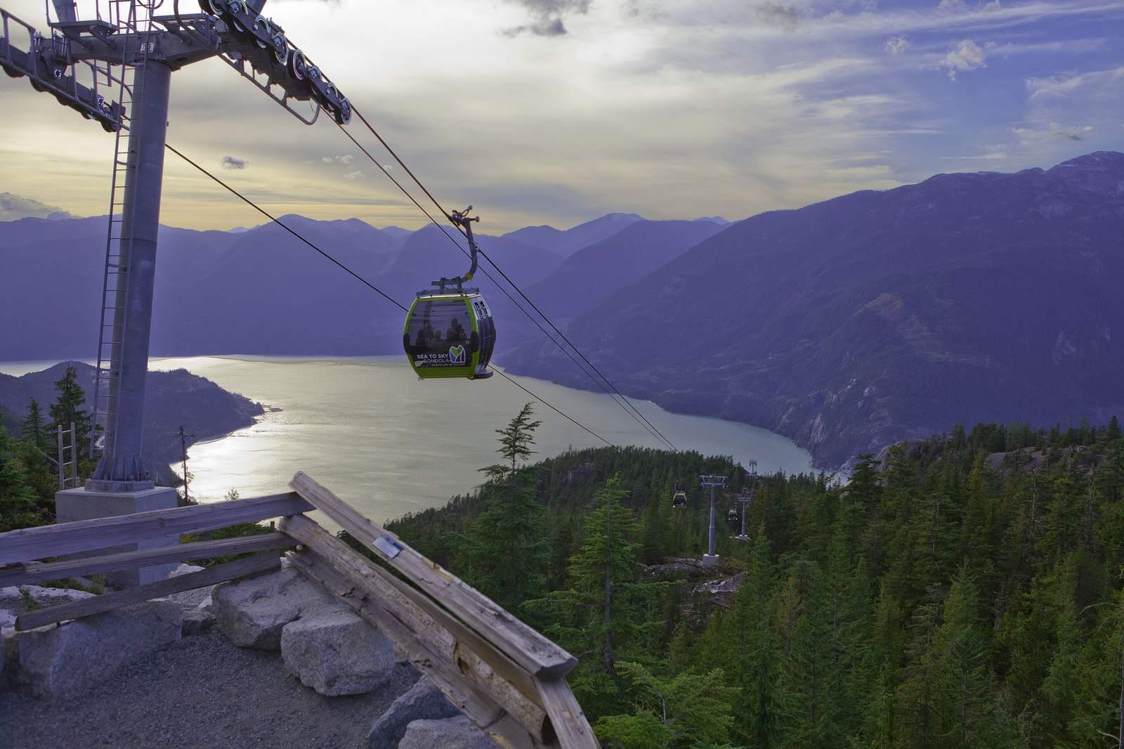 sea to sky gondola2 Sea to Sky Gondola Halfway Between Vancouver and Whistler