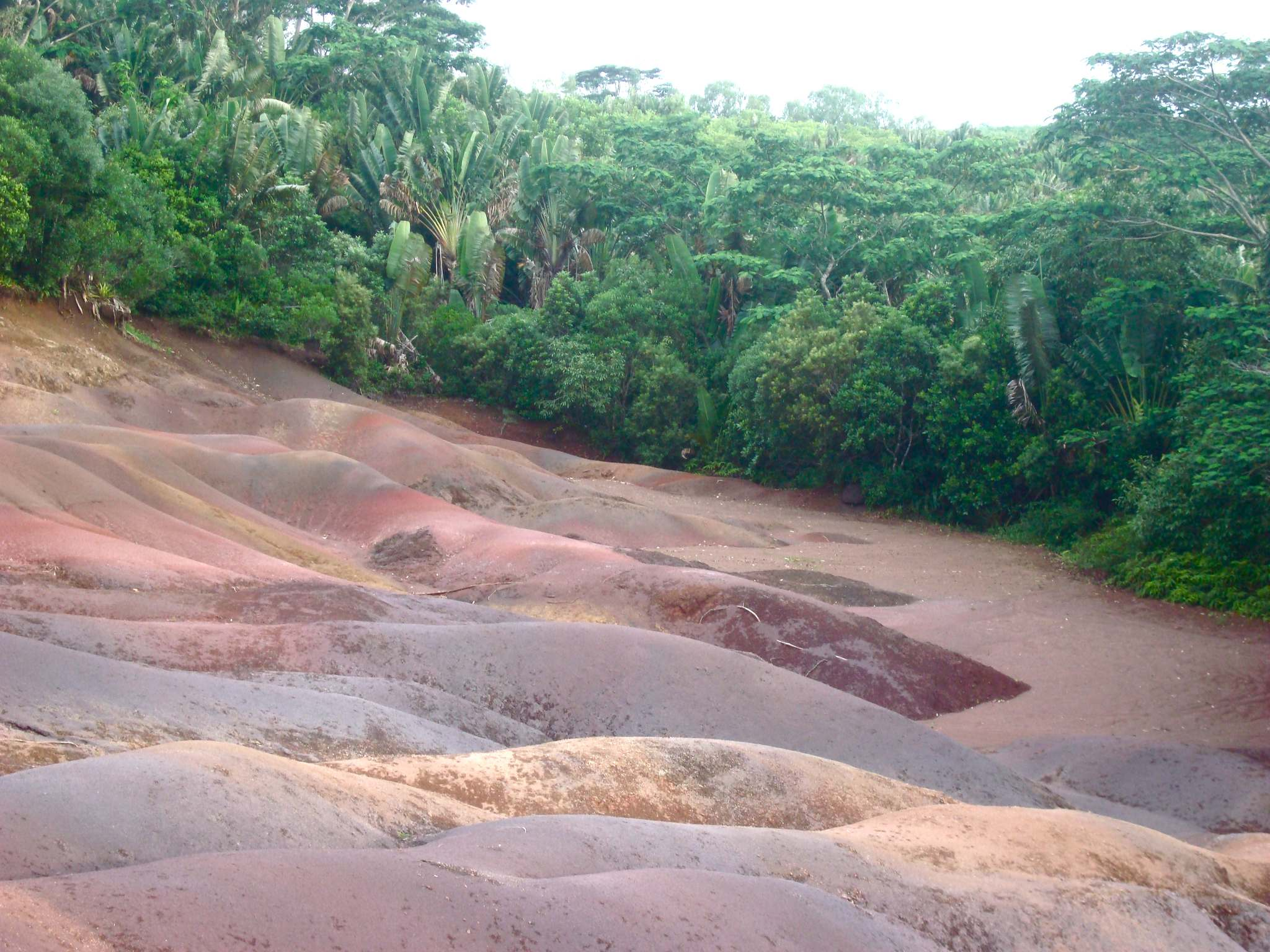 seven colours earth5 The Seven coloured earth of Chamarel, Mauritius