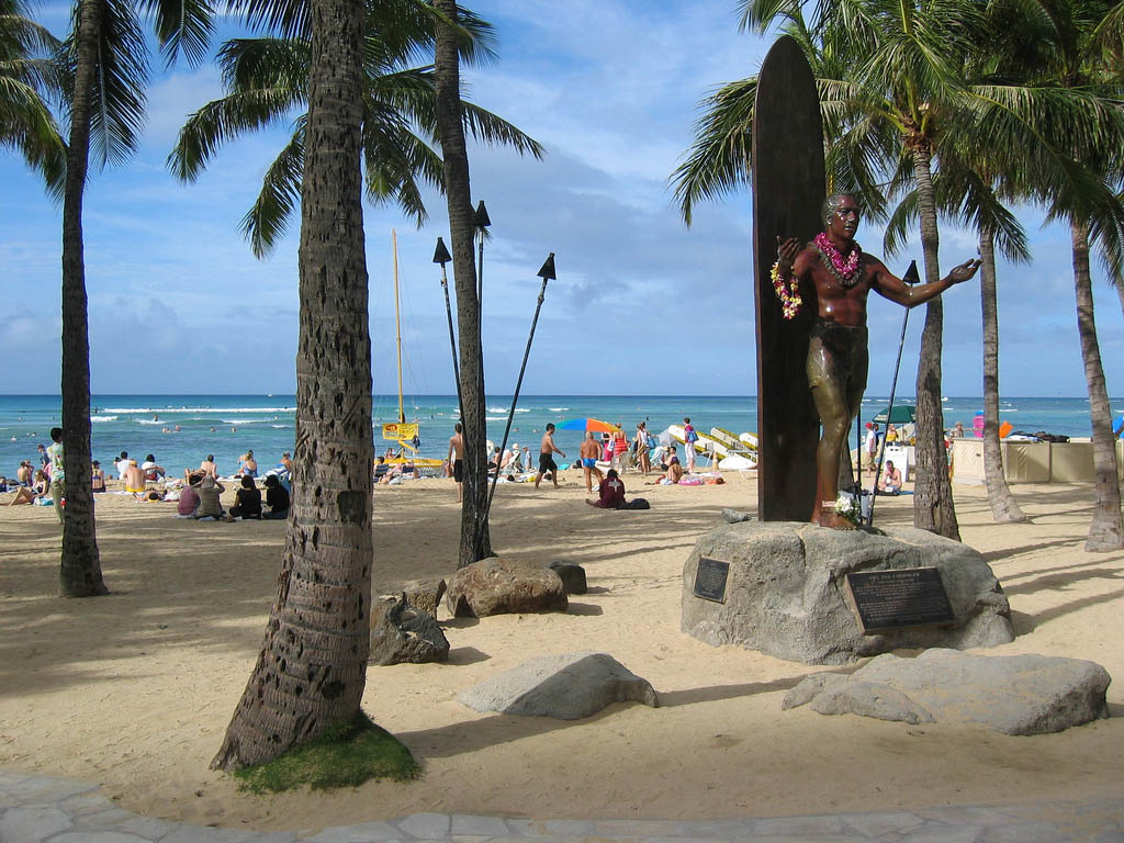 waikiki beach2 Where to Spend Christmas Holidays