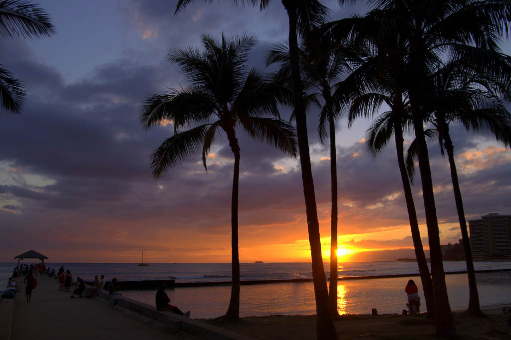 waikiki beach8 Where to Spend Christmas Holidays
