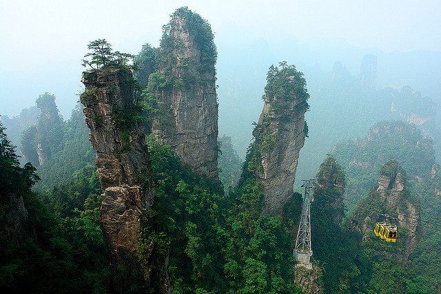 zhangjiajie Zhangjiajie   National Forest Park That Inspired Avatar