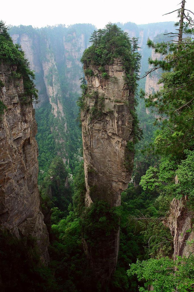 zhangjiajie1 Zhangjiajie   National Forest Park That Inspired Avatar