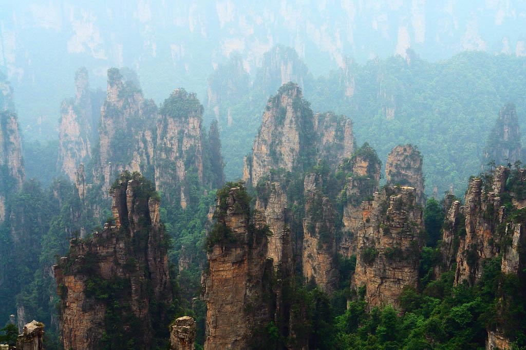 zhangjiajie2 Zhangjiajie   National Forest Park That Inspired Avatar