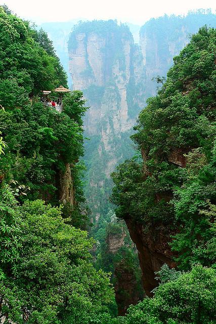 zhangjiajie4 Zhangjiajie   National Forest Park That Inspired Avatar
