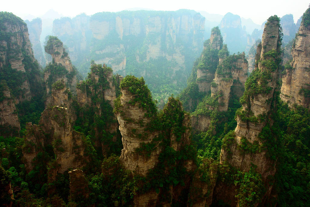 zhangjiajie5 Zhangjiajie   National Forest Park That Inspired Avatar