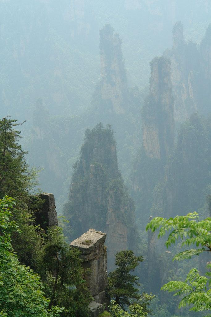 zhangjiajie6 Zhangjiajie   National Forest Park That Inspired Avatar