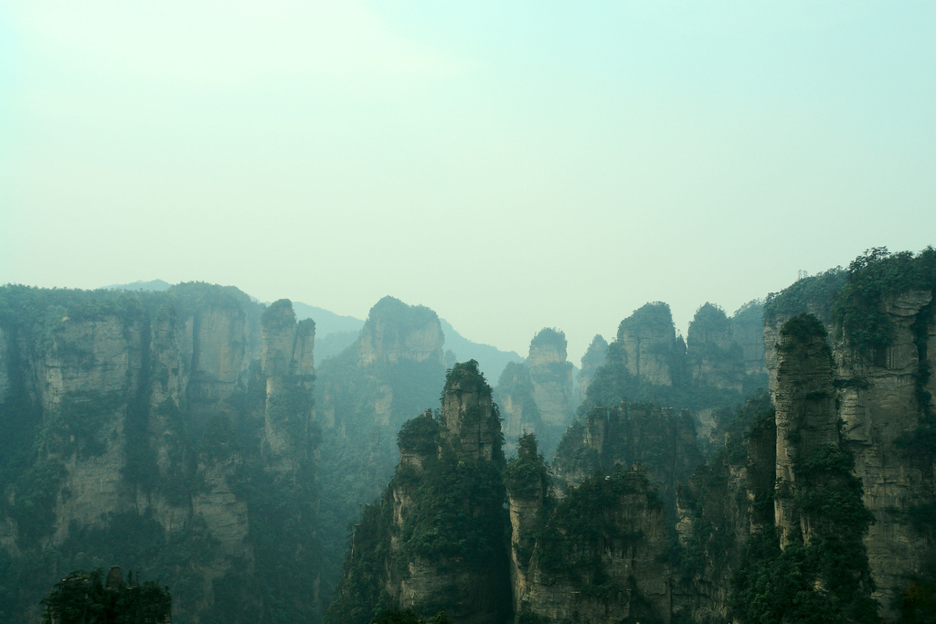 zhangjiajie7 Zhangjiajie   National Forest Park That Inspired Avatar