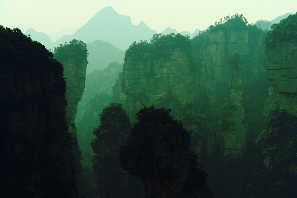 zhangjiajie8 Zhangjiajie   National Forest Park That Inspired Avatar