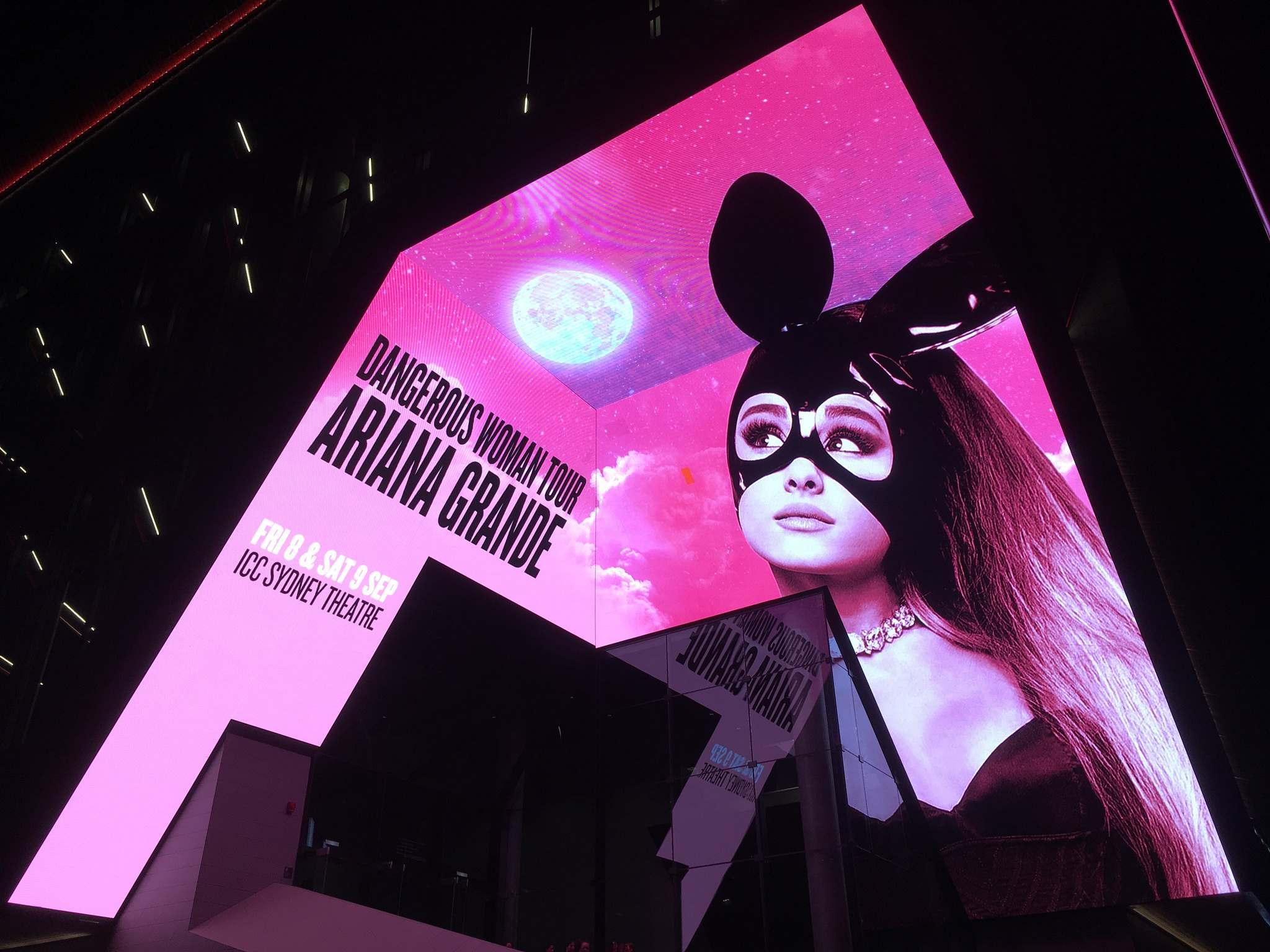 ariana grande Ariana Grande   Dangerous Woman Tour in Sydney, Australia