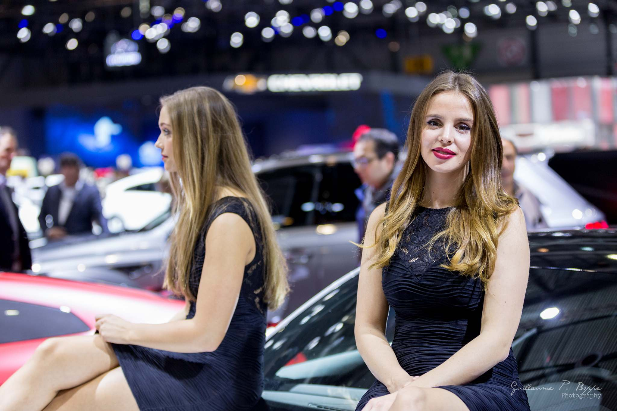 sexy hostess1 Beauty at Geneva International Motor Show 2017