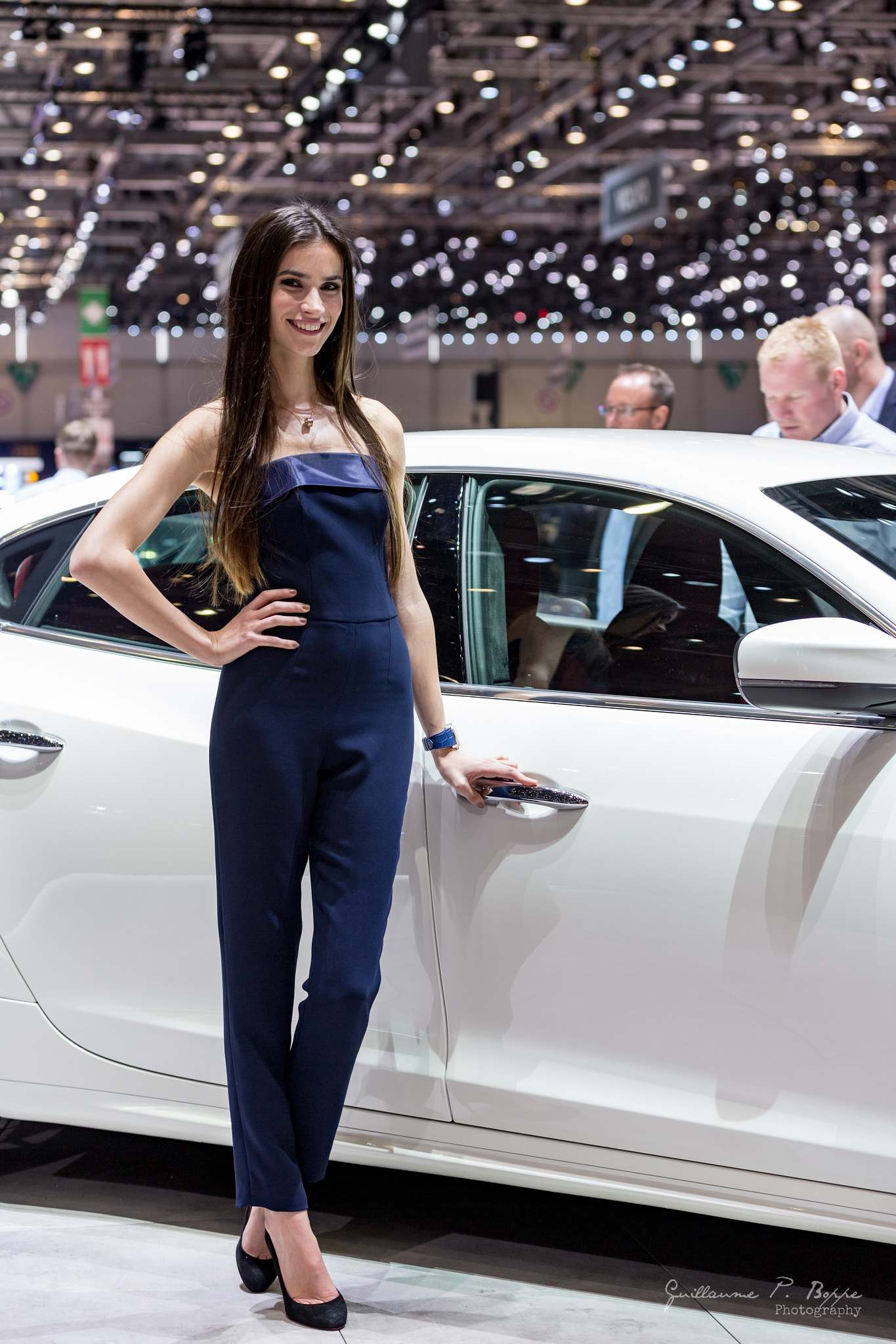 sexy hostess3 Beauty at Geneva International Motor Show 2017