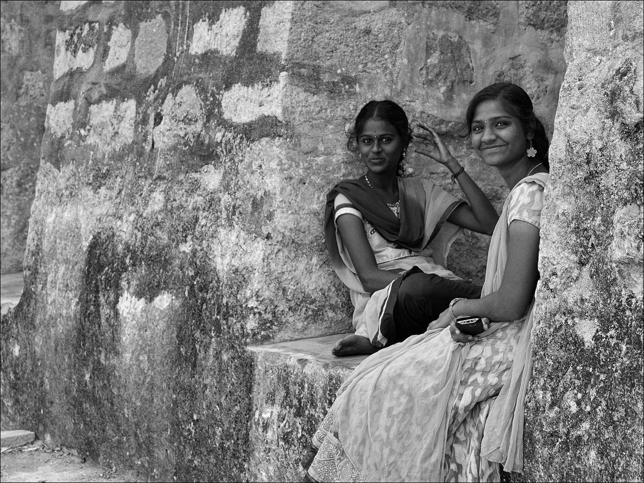 people india9 Daily Life of People in India   Black and White