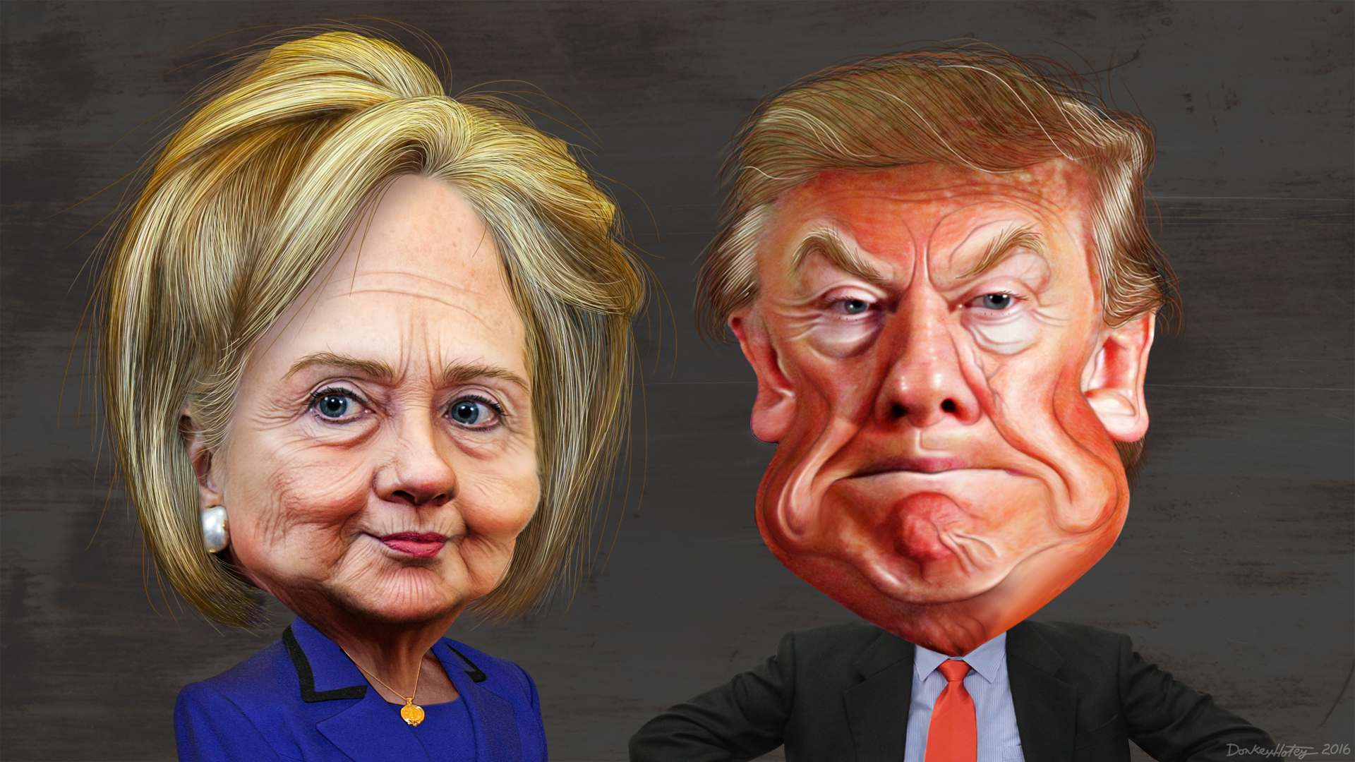 2016 us presidential election Donald Trump vs Hillary Clinton    Pros and Cons and Winner is...
