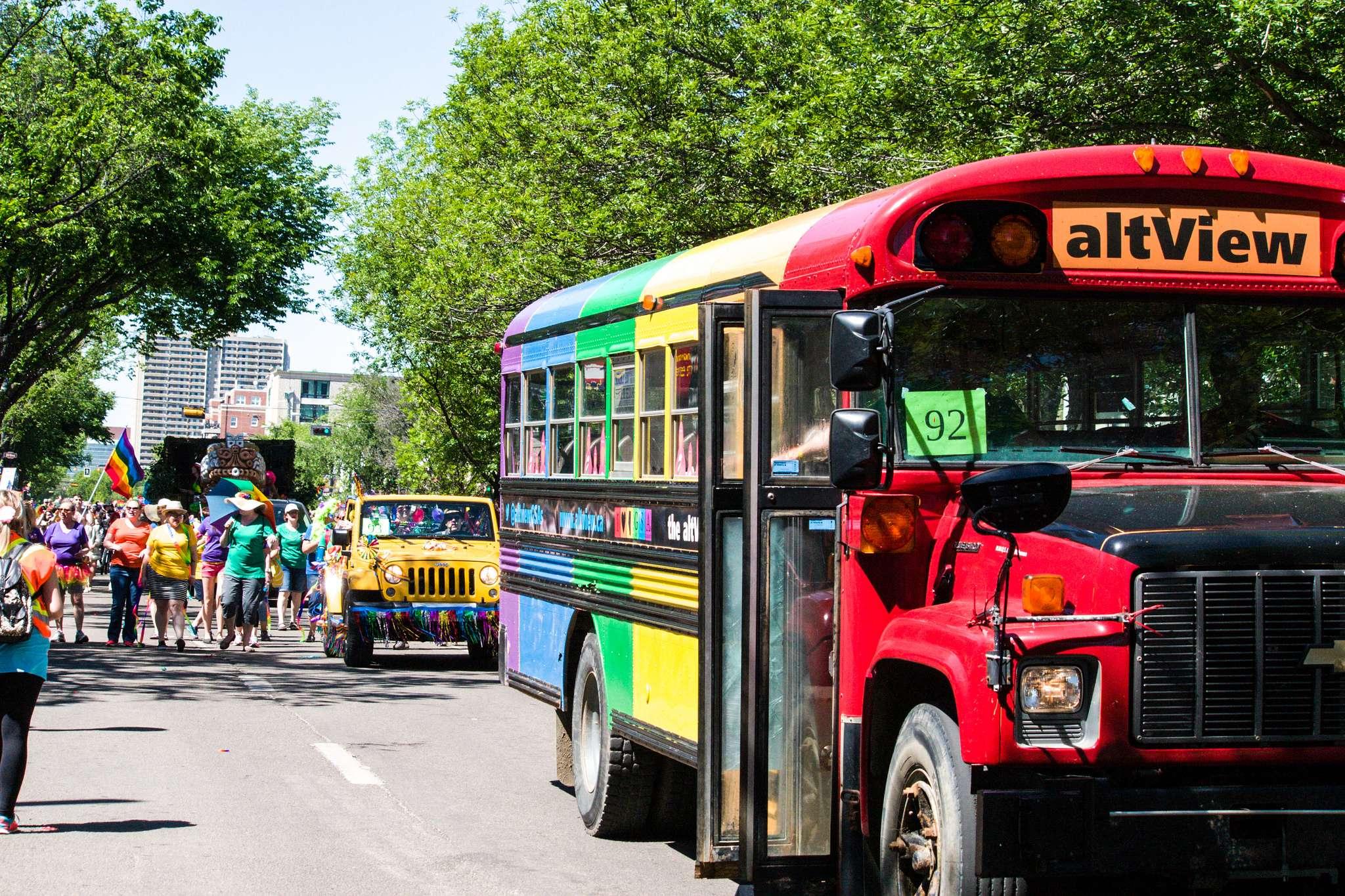 pride parade7 Edmonton Pride Parade 2016