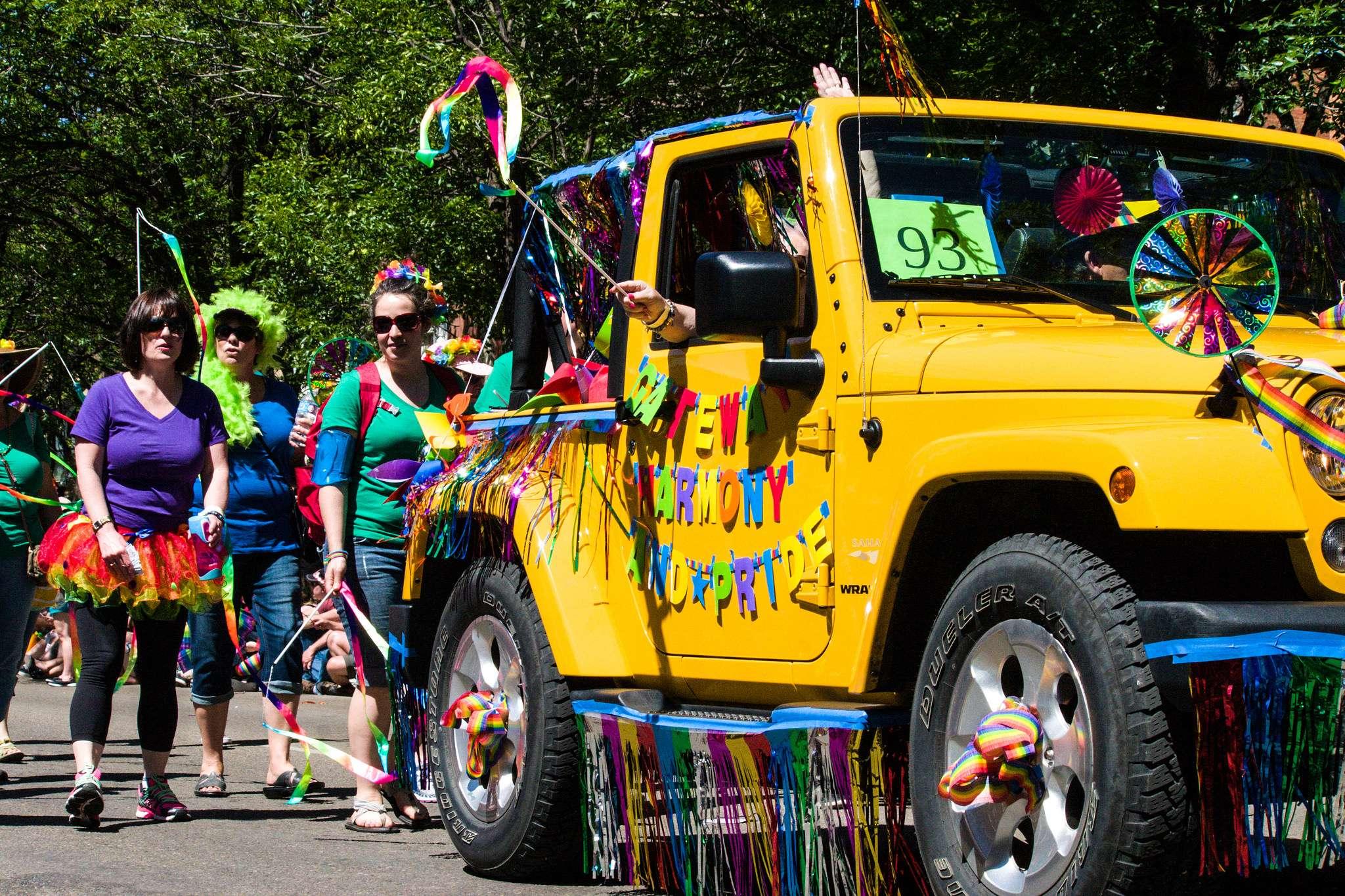 pride parade8 Edmonton Pride Parade 2016