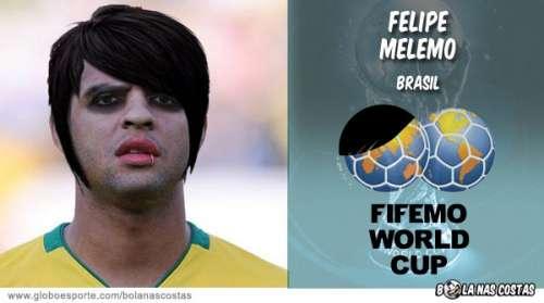 Felipe Melo Emo E Se As Estrelas do Futebol Virassem Emo