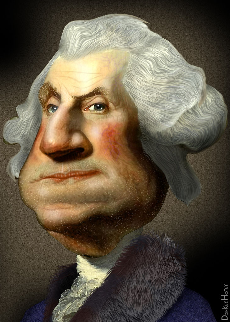 us presidents Funny Caricatures of US Presidents
