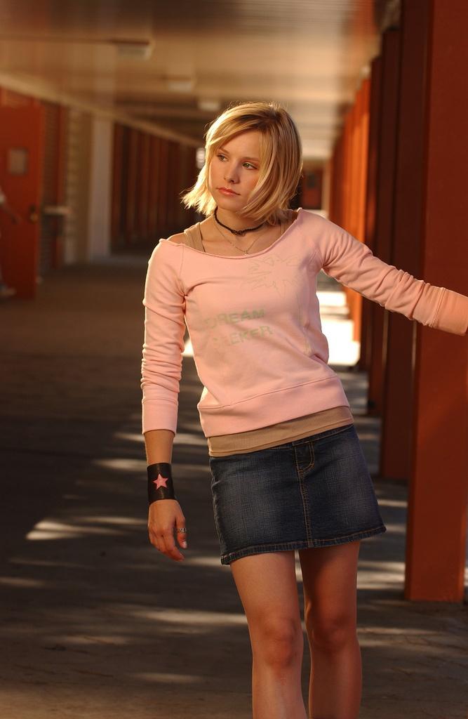 kirsten bell8 Kirsten Bell as Veronica Mars