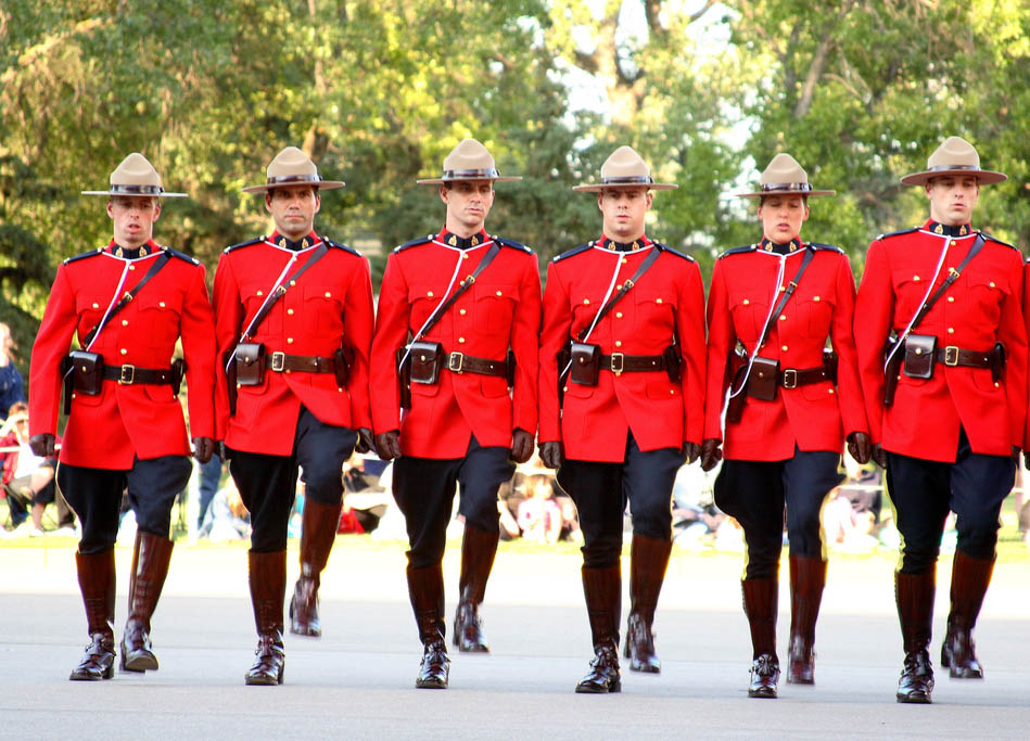 royal canadian mounted police9 The Royal Canadian Mounted Police (Mounties)
