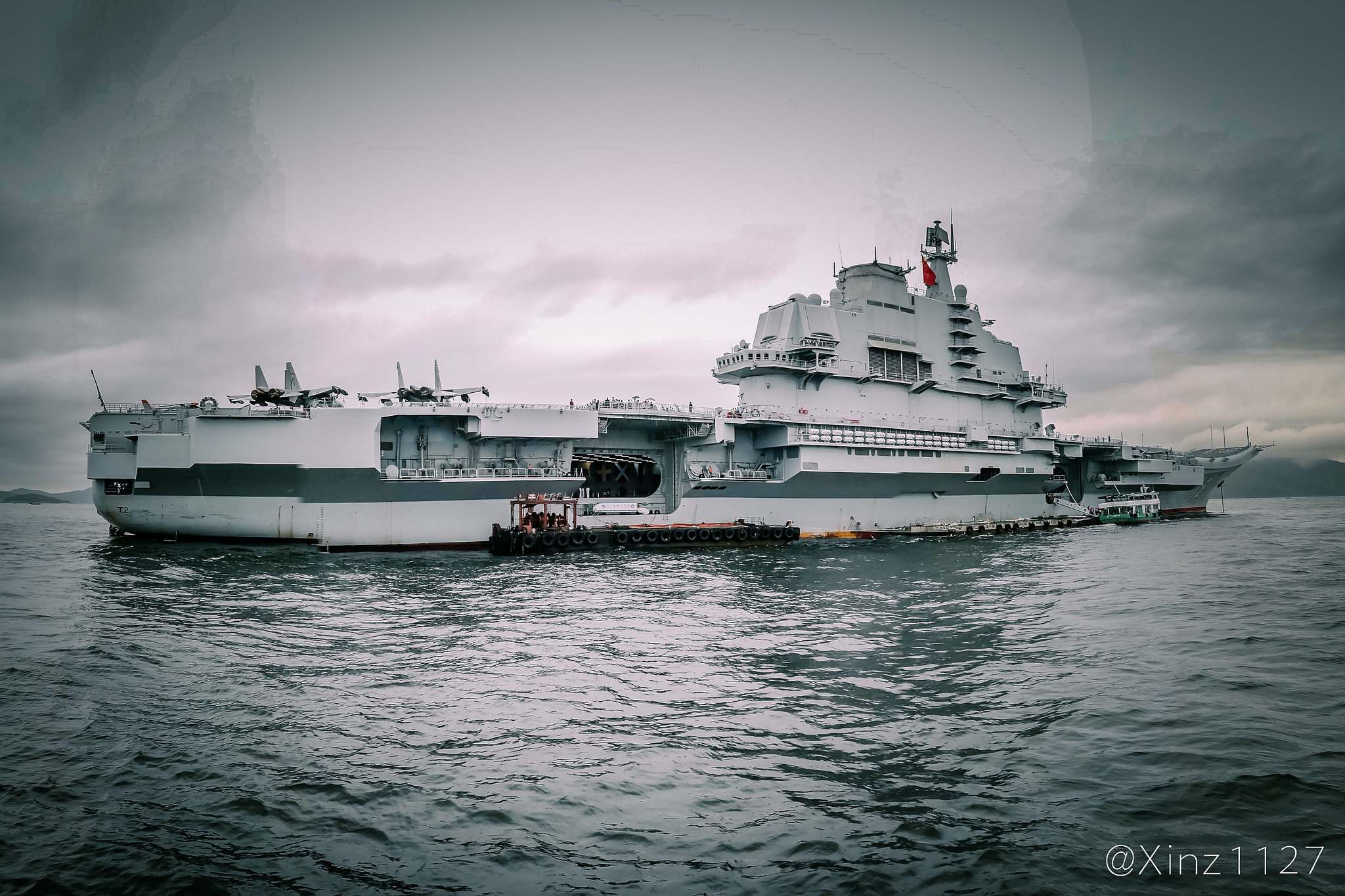 liaoning ship1 CV 16 Liaoning   Chinese aircraft carrier