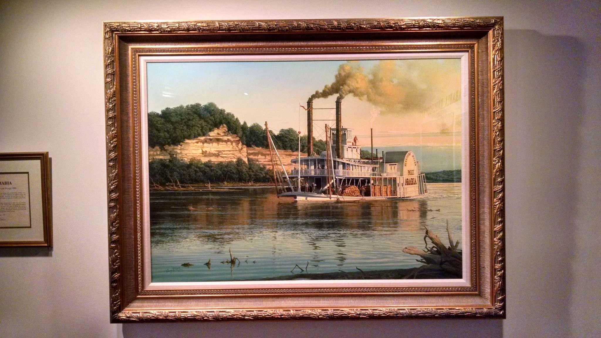 steamboat arabia History of Pioneering Midwest   Steamboat Arabia Museum in Kansas City