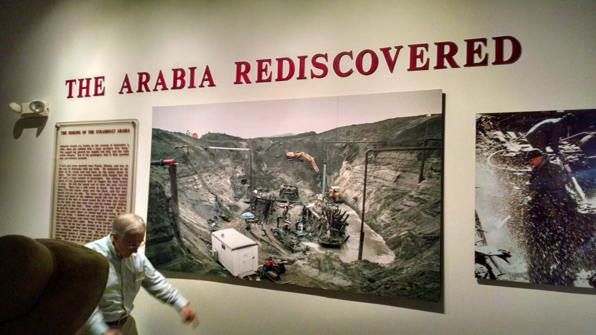 steamboat arabia1 History of Pioneering Midwest   Steamboat Arabia Museum in Kansas City