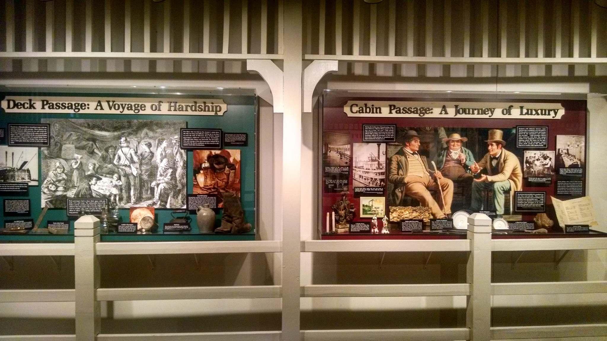 steamboat arabia10 History of Pioneering Midwest   Steamboat Arabia Museum in Kansas City