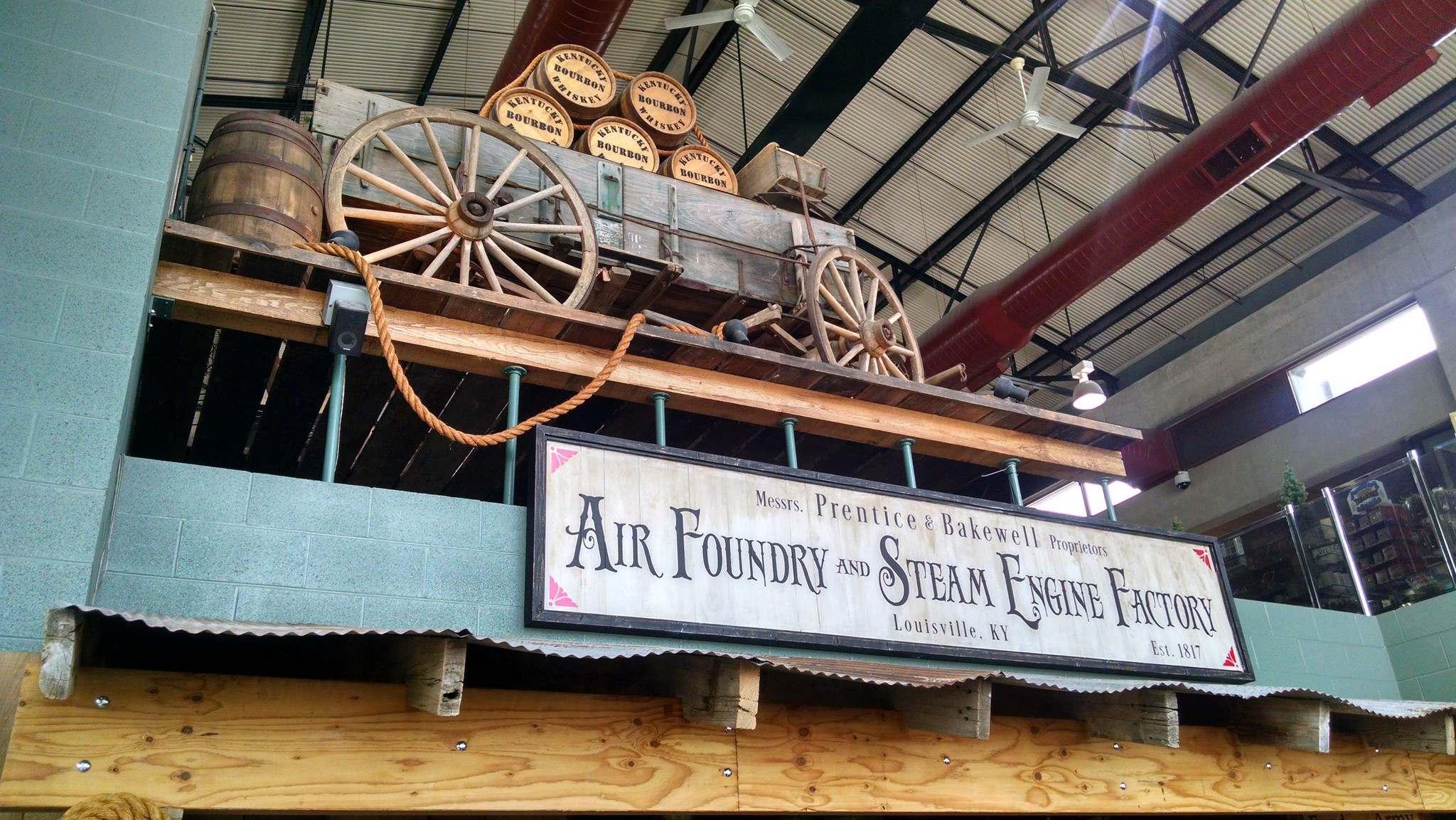steamboat arabia2 History of Pioneering Midwest   Steamboat Arabia Museum in Kansas City