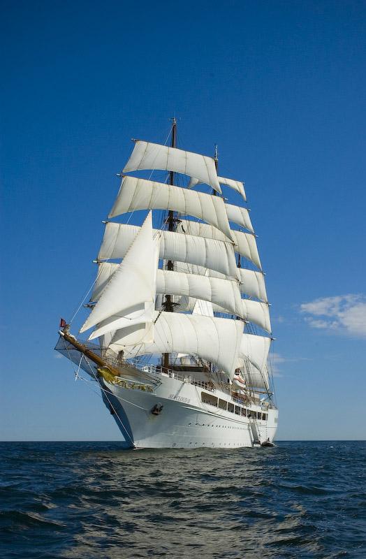 sea cloud ii1 Modern Ship Sea Cloud II With a Historical Touch