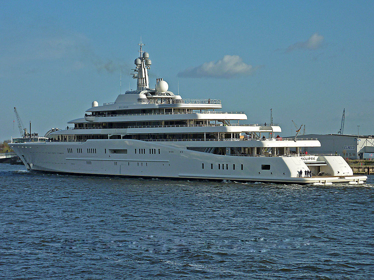 luxury yachts3 Top Three Biggest Exclusive Yachts