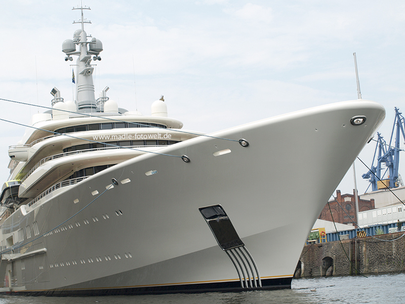 luxury yachts4 Top Three Biggest Exclusive Yachts