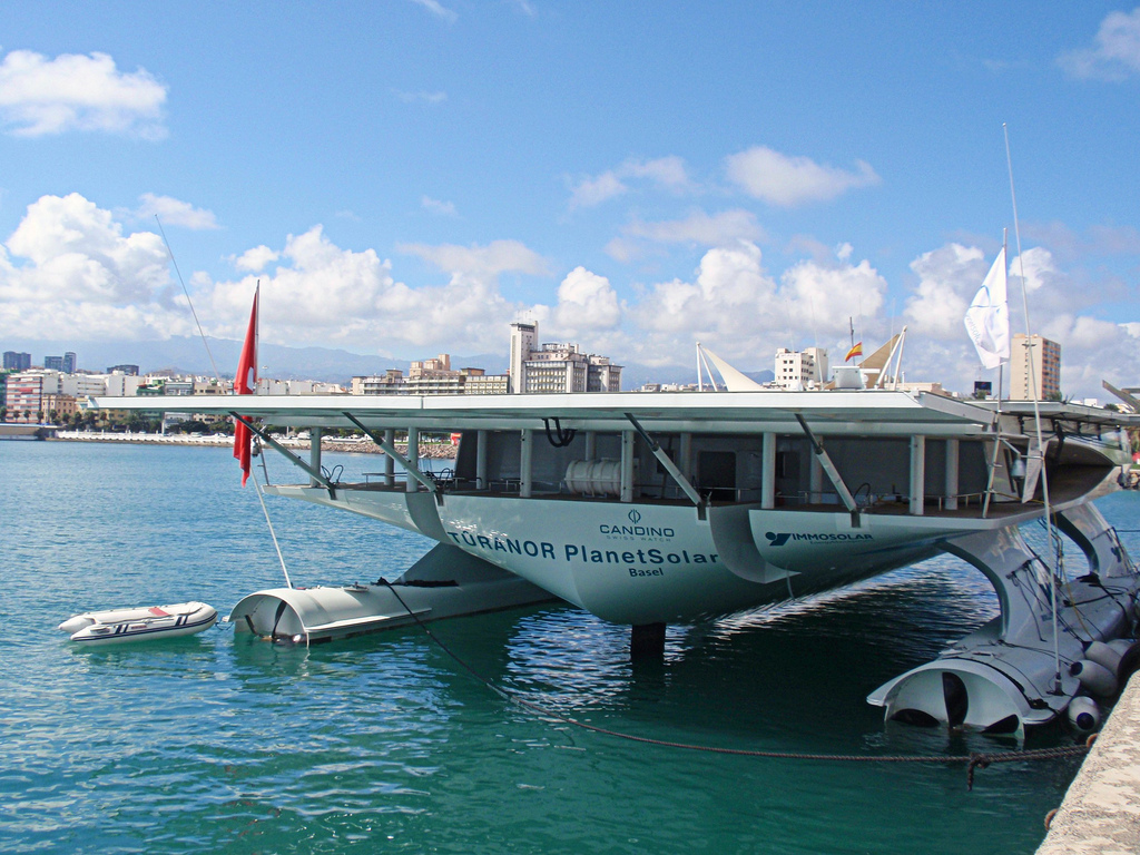 solar boat2 Turanor PlanetSolar   Largest Solar Powered Boat