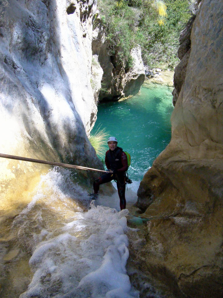 rio verde1 Adrenaline Canyoning Rio Verde