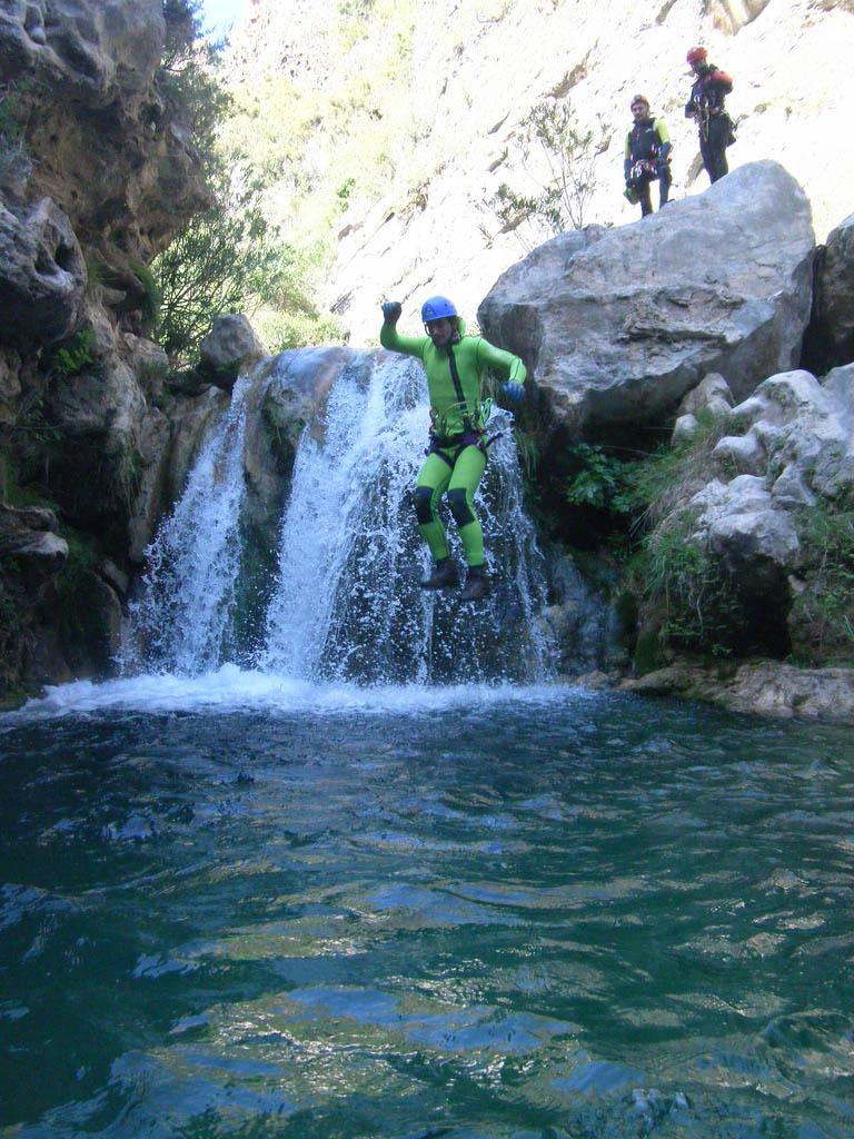 rio verde9 Adrenaline Canyoning Rio Verde
