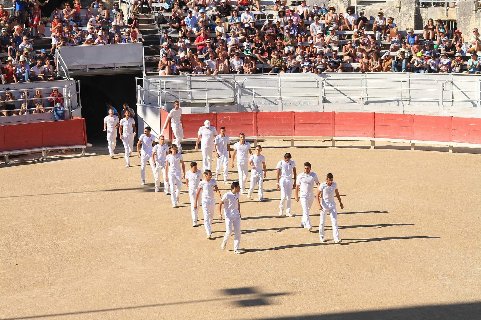 arles7 Bull Fighting in Arles Arena
