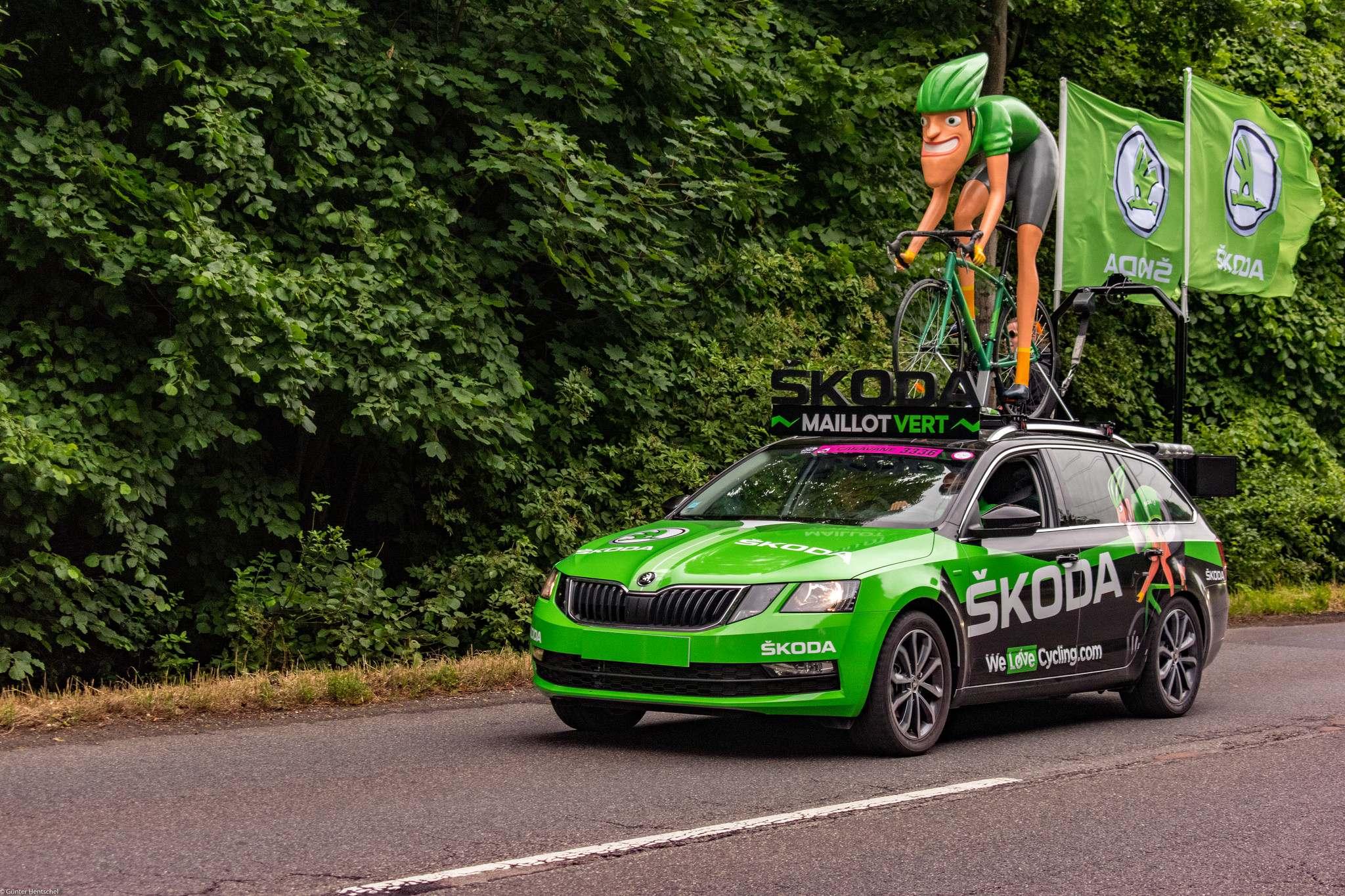 le tour Caravan Before the Start of the Tour de France   Dusseldorf